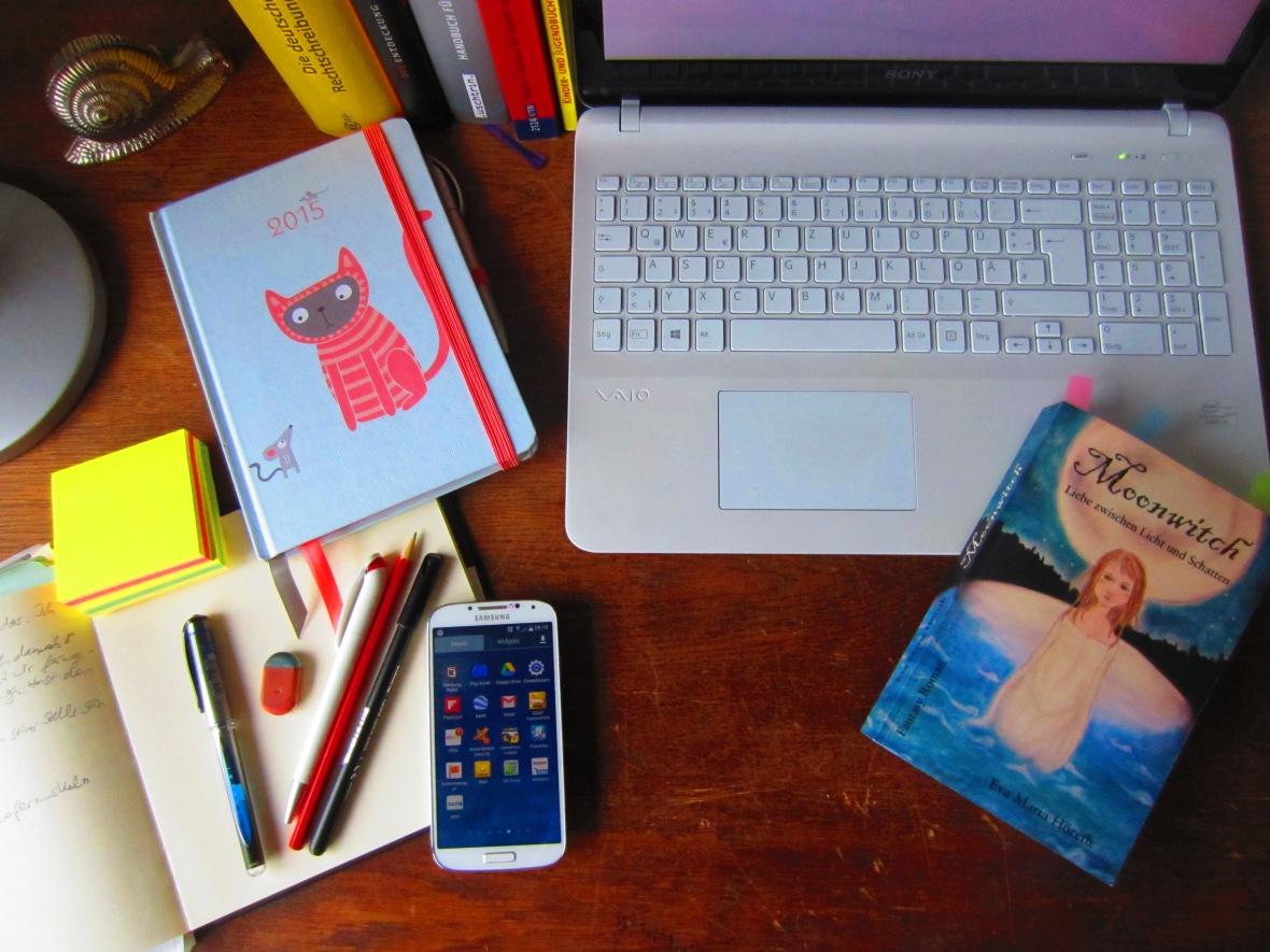 Evas Schreibtisch 2015 -2