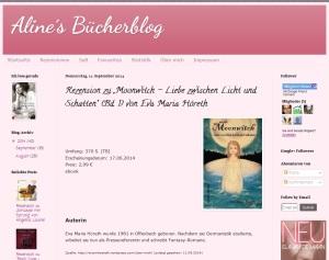 Rezension Alines Bücherblog