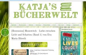 Rezension auf katjas Bücherblog